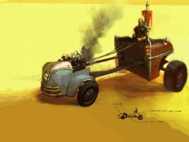 Fallout 3 Ride by vermaden