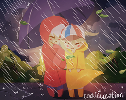 ::GIF:: Rainy Days (click to see) by cookiecreation