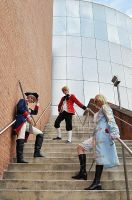 APH - Stairs:. by Titanicfreek
