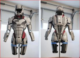 The slowest N7 armor build in history II by hsholderiii