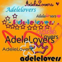 8 Textos PNG Adelelovers . by SkyscraperTutoriales