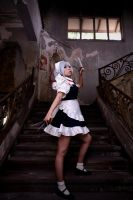 Sakuya: Maid of the Scarlet Mansion by zerartul