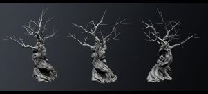Zbrush - Dead Tree by 8akina