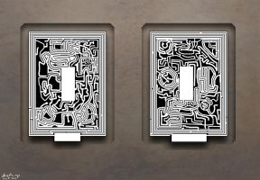 Two More Mazes by leothefox