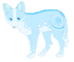Snow wolf by ShowMeYourGuns