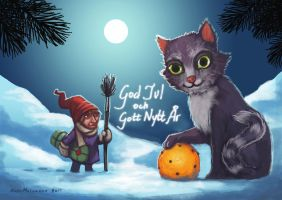 Christmas card 2011 by zenarion