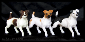 Breyer Companion Animals - Jack Russell Terriers by The-Toy-Chest