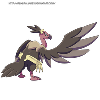 My Favorite Flying Type 2014- Mandibuzz by GeneralGibby