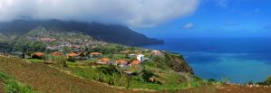 Faial Panorama by konceptsketcher