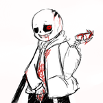 Horror! Sans by Lysame