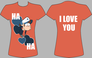 Dipper Valentine Shirt by ArtLily