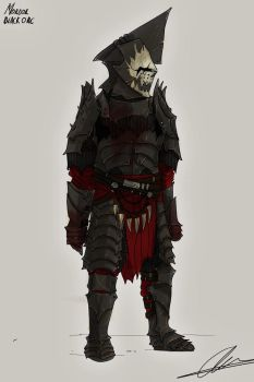 Mordor Black Orc by Taurus-ChaosLord