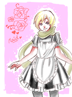 Russia The Maid by mykyo