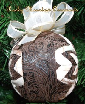Rocky Mountain Cowboy ornament by Chrissie1370