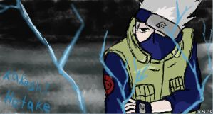 Kakashi Hatake by clarinetplayer