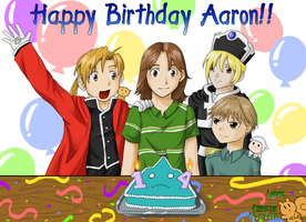 Happy Birthday Aaron by kolidescope