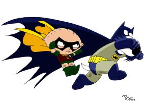 The Dynamic Duo Brian n Stewie by dgtrekker