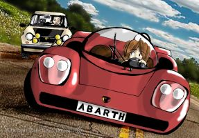 Abarth 2000 Vs Autobianchi A112 Abarth by Maxmilian1983