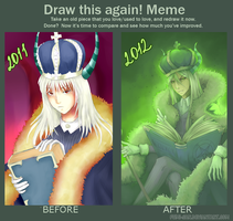 Draw this Again meme - Beelzebub by fumi-san