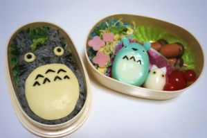 totoro bento tutorial (tutorial in description) by minicuteclub