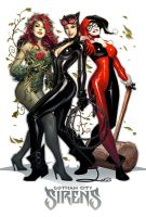 Gotham City Sirens by AlexGarner