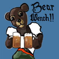 Bear Wench by mudimba