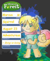 Idlewood Forest App - Marcus by CaramelCreampuff