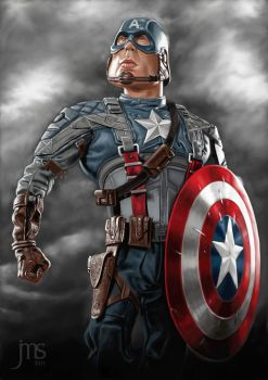 Captain America by donjapy2011