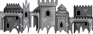 Castle Divider by Midnyte-Wolff