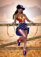 Wonder Texas Woman by gallygan