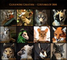 2014 Costumes by Qarrezel