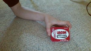 Bacon Flavored Gum= Barf! by Technicallyderped