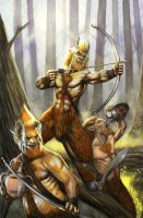Satyrs by Wiggers123