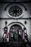 Assassin's creed Unity cosplay groupe. by E2cosplay