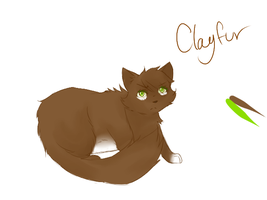 Clayfure reference sheet by ninelivestwice