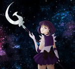 Sailor Saturn - Turning back 2.0 by smanki