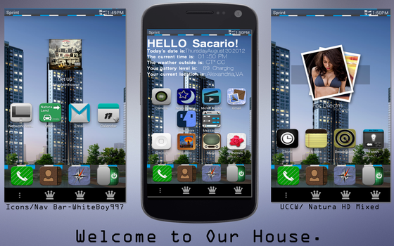 Welcome To Our House by SacarioEpiphany