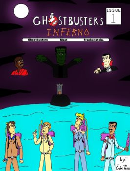 Ghostbusters Comic Cover by clinteast
