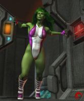 She hulk by Raddar