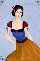 Timid Snow White by WhisperingWindxx