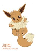 Eevee by Kam-Fox