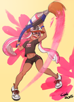 Pink inkling by Nagrolaz