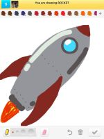Draw Something: Rocket by AskGriff
