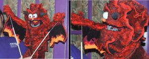 Sparks the Balrog Puppet by kingart4