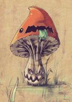 beware of the evil mushrooms by tikopets
