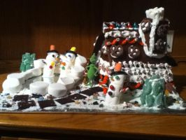 Gingerbread House by Haileym2000