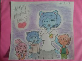 happy mother day heart TAWOG by bigbob101