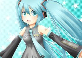 Vocaloid: Flow with the stars by Kamaniki