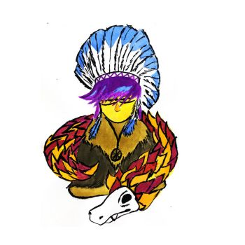 American Indian by BLAD92
