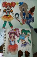 Mixed Girls Batch [CLOSED] by Mashi-Adopts